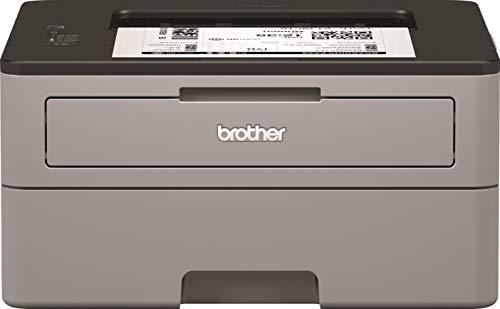 Brother HL-L2310D Kompakter S/W-Laserdrucker (30 Seiten/Min., A4, echte 1.200x1.200 dpi, Duplexdruck, geschlossene 250 Blatt Papierkassette, USB 2.0)