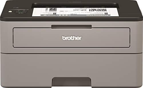 Brother HL-L2350DW Kompakter S/W-Laserdrucker (30 Seiten/Min., A4, echte 1.200x1.200 dpi, Duplexdruck, 250 Blatt Papierkassette, USB 2.0, WLAN)