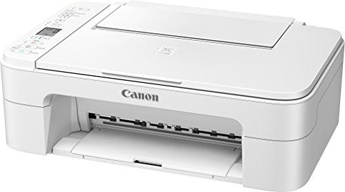 Canon PIXMA TS3151 Farbtintenstrahl-Multifunktionsgerät (Drucken, Scannen, Kopieren, 3,8 cm LCD Anzeige, WLAN, Print App, 4.800 x 1.200 dpi) weiß
