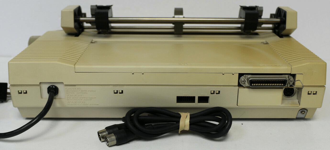 Commodore MPS 1000 Printer Anschlüsse, Geschichte des Druckers