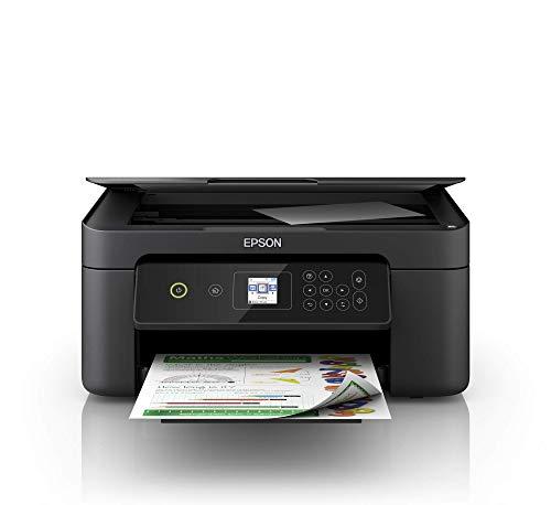 Epson Expression Home XP-3100 3-in-1-Tintenstrahl-Multifunktionsgerät, Drucker (Scanner, Kopierer, WiFi, Einzelpatronen, Duplex, 3,7 cm Display) Amazon Dash Replenishment-fähig, schwarz