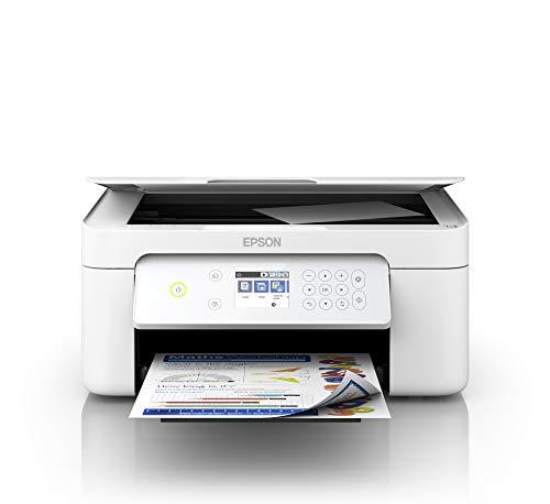 Epson Expression Home XP-4105 3-in-1-Tintenstrahl-Multifunktionsgerät, Drucker (Scanner, Kopierer, WiFi, Einzelpatronen, Duplex, 6,1 cm Display) Amazon Dash Replenishment-fähig, weiß
