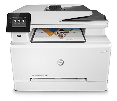 HP Color LaserJet Pro M281fdw Multifunktions-Farblaserdrucker, Laserdrucker (Drucken, scannen, kopieren, Faxen, WLAN, LAN, Duplex, Airprint) weiß