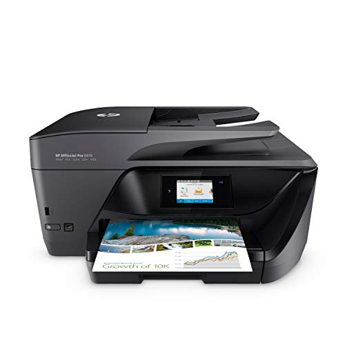 HP OfficeJet Pro 6970 Multifunktionsdrucker (Instant Ink, Drucker, Scanner, Kopierer, Fax, WLAN, LAN, Apple Airprint, mit 3 Probemonaten HP Instant Ink inklusive)