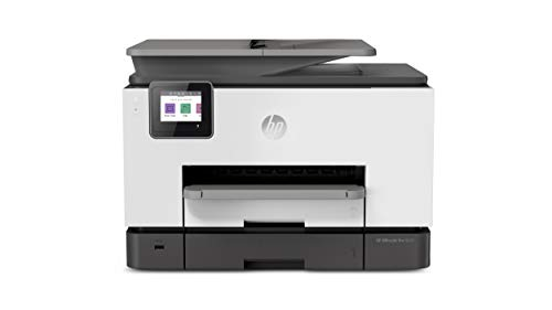 HP OfficeJet Pro 9020 Multifunktionsdrucker (HP Instant Ink, A4, Drucker, Scanner, Kopierer, Fax, WLAN, LAN, Duplex, HP ePrint, Airprint, 24 Seiten/Minute, 500 Blatt) Basalt