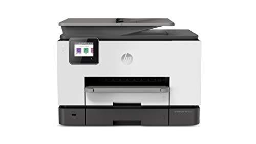 HP OfficeJet Pro 9020 Multifunktionsdrucker (HP Instant Ink, A4, Drucker, Scanner, Kopierer, Fax, WLAN, LAN, Duplex, HP ePrint, Airprint, 24 Seiten/Minute, 500 Blatt) Basalt