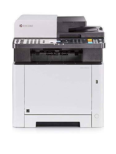 Kyocera Klimaschutz System Ecosys M5521cdn Farblaser Multifunktionsdrucker Drucker, Kopierer, Scanner, Faxgerät Inkl. Mobile-Print-Funktion Amazon Dash Replenishment-Kompatibel