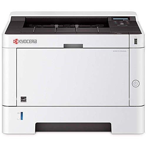 Kyocera Klimaschutz-System Ecosys P2040dn Laserdrucker: Schwarz-Weiß, Duplex-Einheit, 40 Seiten pro Minute. Inkl. Mobile Print Funktion