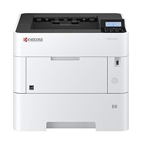 Kyocera Klimaschutz-System Ecosys P3155dn Laserdrucker (Duplex-Einheit, 55 Seiten pro Minute. Inkl. Mobile Print Funktion) schwarz-weiß
