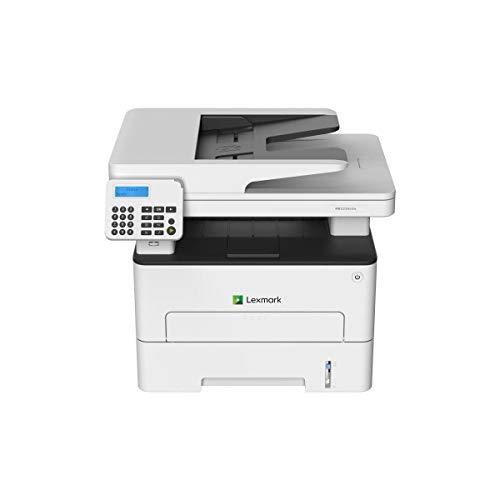 Lexmark MB2236ADW 4-in-1 Monolaser-Multifunktionsgerät (Drucker, Kopierer, Scanner, Fax, WLAN, LAN, bis zu 34 S./Min., autom. beidseitiger Druck) schwarz/grau