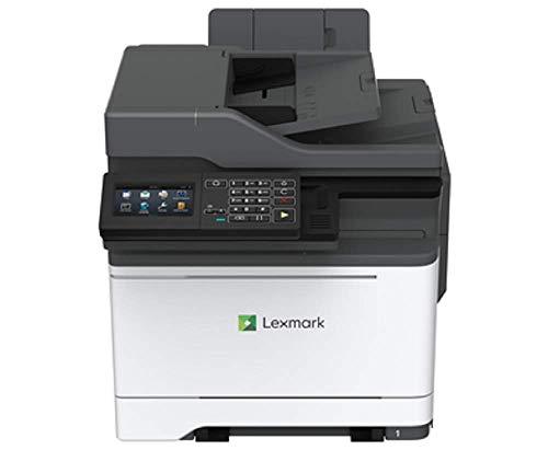 Lexmark MC2535DWE 4-in-1 Farblaser-Multifunktionsgerät (Drucker, Kopierer, Scanner, Fax, WLAN, LAN, bis zu 33 S./Min.,autom. beidseitiger Druck, 10,9 cm-Touchscreen) schwarz/grau