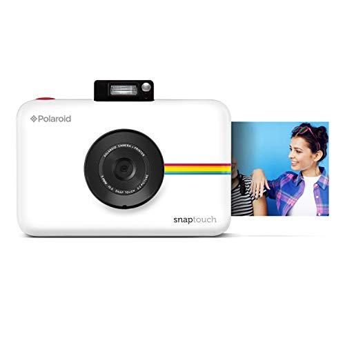 Polaroid SNAP Touch 2.0 13MP Tragbare Digitale Sofortbildkamera mit LCD Touchscreen Display, Zink Null Tinte Drucke 2x3, Weiß