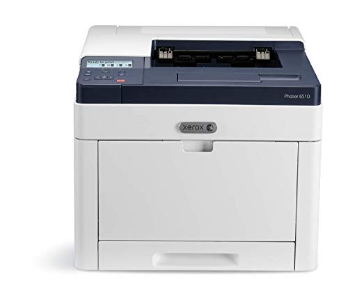 XEROX Phaser 6510DN A4-Laserdrucker (28 Seiten/Min 250 Blatt, max. 50,000 Seiten / Monat) grau